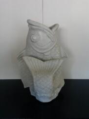 Koi Fish Planter