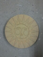 Sun Face Stepping Stone